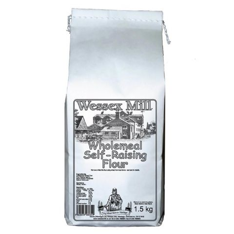 Wholemeal Self Raising Flour Wessex Mill 1.5kg